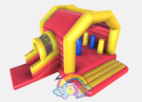 Kids Inflatable Multifun Moonwalk 02