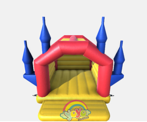 Inflatable bounce house castle 02