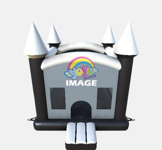 inflatable bounce house moonwalks castle 04
